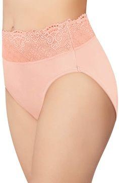 67592cbb2 Bali Women s Passion For Comfort Hi-Cut Panty DFPC62