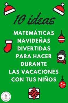 10 actividades matemáticas navideñas para aprender disfrutando