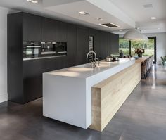 Minimalist Kitchen Design and Style, Contemporary Kitchen Designs 2018 What for Dummies - kindledecor Modern Kitchen Interiors, Modern Kitchen Design, Home Decor Kitchen, Kitchen Living, Interior Design Kitchen, New Kitchen, Kitchen Units, Kitchen Ideas, Kitchen Soffit