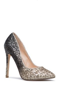 Step up your pump game with Teagan. At the office, she adds glam. At the party, she also adds glam. You can't go wrong! Prom Heels, High Heels Stilettos, Women's Pumps, Prom Shoes Silver, Indian Designer Wear, Shoe Closet, Shoe Dazzle, Cute Shoes, Footwear