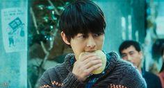 Song Joong Ki 송중기 as Cheul Soo at A Werewolf Boy