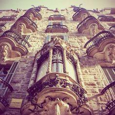 Casa Calvet, Barcelona, Architect Antoni Gaudí.