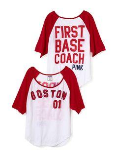 Victoria's Secret Pink Boston Red Sox Tee