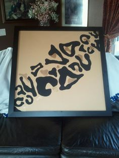 leopard print giant painting