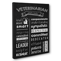 #Sponsored Veterinarian Wall Art.