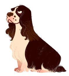 239: Springer Spaniel (Dog Week, day 6)