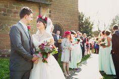 English Rose Great British Countryside Floral Wedding http://karibellamy.com/