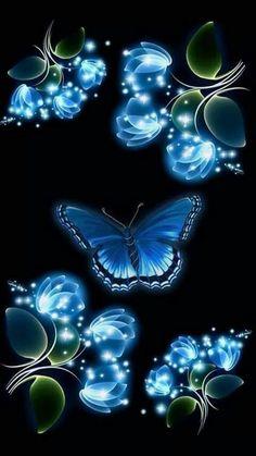 cute pink butterfly Wallpaper by kaeira - db - Free on ZEDGE™ Blue Butterfly Wallpaper, Butterfly Flowers, Flower Wallpaper, Cellphone Wallpaper, Galaxy Wallpaper, Wallpaper Backgrounds, Paper Butterflies, Beautiful Butterflies, Art Papillon