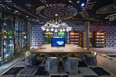 Un hôtel décoré par Philippe Starck |  Décoration restaurant - design - déco