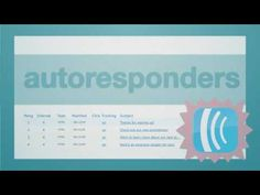 http://www.aweber.com Learn how you can use autoresponders in your email marketing.  http://datawebcoder.com/codeByVideo/334/Autoresponders.aspx