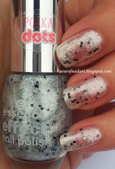 Swatch Essence effect nail polish 13 Laser show