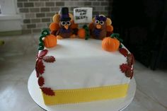 #Thanksgiving #cake
