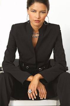 Grommet Pantsuit in Professional from Chadwicks Of Boston on shop.CatalogSpree.com, your personal digital mall.