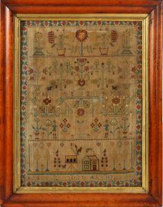 NEEDLEPOINT SAMPLER, DATED 1775