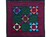 Miniature Amish King; Amish Country Quilts