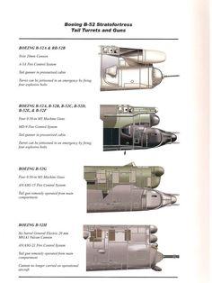 B-52 Tail Gun Variations