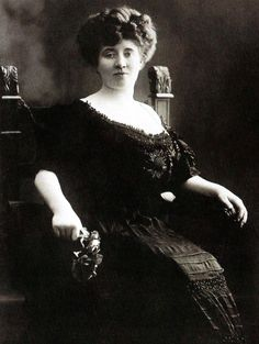 Kitty Marion, a German born English actress and an active member of the Women's Social and Polictical Union (WSPU). Imprisoned several times for militant activity - UK - 1907