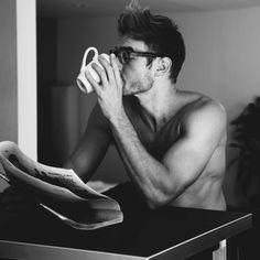 Men like coffee just as much as women. Hence, #realmenscrub