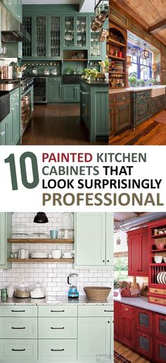11 painted kitchen cabinets that look surprisingly professional - Professional Painting Kitchen Cabinets