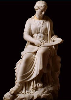 """In Greek mythology, Calliope ( Ancient Greek:Καλλιόπη""""beautiful-voiced"""") was the muse of epic poetry, daughter of Zeus and Mnemosyne, and is believed to be Homer's muse, the inspiration for the Odyssey and the Iliad. One account says Calliope was the lover of the war god Ares, and bore him several sons: Mygdon, Edonus, Biston, and Odomantus (or Odomas), respectively the founders of Thracian tribes known as the Mygdones, Edones, Bistones, and Odomantes."""