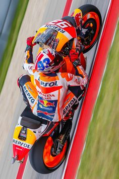 Marc Marquez. MotoGP Austin 2016. Honda RCV Team Repsol. New front fairing.