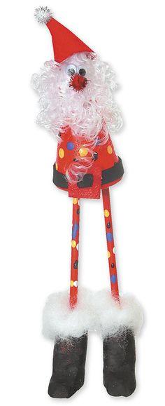 Santa On Stilts