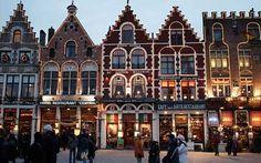 marché de noël à Bruges en Belgique