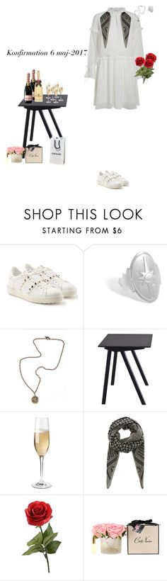 """""""6/3-17"""" by maya-isako ❤ liked on Polyvore featuring Valentino, French Kande, HAY, ETUÍ, Wine Enthusiast and Lala Berlin"""