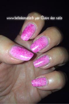 #nailart du rose à gogo #nail #nailart #manicure #kiko #rose #pink - Belle des nails by Claire des nails