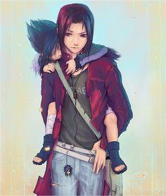 Brothers...Sasuke  Itachi