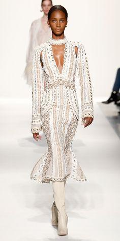Beautiful Black Models on the Runway at New York Fashion Week - Jonathan Simkhai from InStyle.com