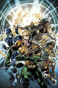 Aquaman and the Others #1 cover by Ivan Reis and Joe Prado