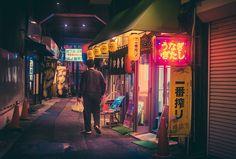 Fotógrafo Capturou A Mágica Atmosfera Da Noite Das Ruas De Tóquio