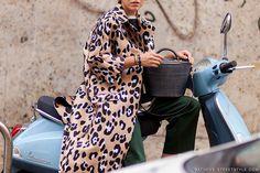 Milan Fashion Week Spring 2015 Street Style