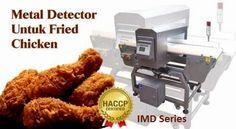 Metal Detector Untuk Fried Chicken IMD Series conveyor Belt