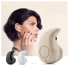 The mini Eardrum shaped Bluetooth headphone. It is fully compatible with any Bluetooth device. This tiny headphone replicates the sound and plays it in your ears and comes as close to a real sound one
