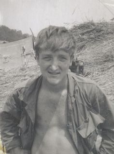 "My father smiling.  Taken in Vietnam.  He's the Veteran writer of, and also the main character in Beneath the Bamboo: A Vietnam War Story.  Learn more here: http://www.jonathon-jones.com/beneaththebamboo.html    Keywords: vietnamwar veterans vietnamvets vets military soldiers 1stcav 1stcavalry firstcavalry firstcav army soldiers military militaryphotos 60s 1960s ""vietnam war"""
