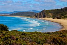 Aude for the best job in the world: Outback Adventurer | Bruny Island, TAS  Beautiful view from one of Tasmania's 60 short great walks.