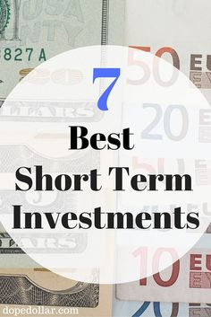 If you're looking for ways to invest money short term, then you gotta see this post! It's the 7 best ways to invest money short term, while making money!