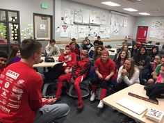 Thanks former student #joe_barron12 for taking time to spontaneously talk to our class today about high school! Come back anytime😊 #teamljh --- Amy Carlson Walker (@amyjwalker) | Twitter