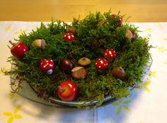 Tischdekoration Herbst