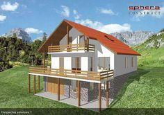proiecte de case in panta slope house plans