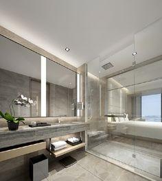 Rain Shower Bathroom, Bathroom Toilets, Washroom, Interior Design Images, Bathroom Interior Design, Grey Bathrooms, Beautiful Bathrooms, Simple Bathroom, Modern Bathroom