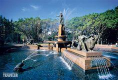 Фонтан Арчибальда, Сидней, Австралия