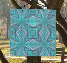Light of Stars Quilt { Blogger's Quilt Festival Fall 2014 } by Gosia @ Quilts My Way. Paper piece designed by her on EQ7. Love it!