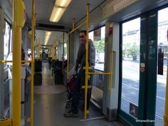 Getting around Stockholm in a tram