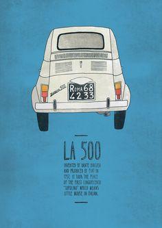 Italian Inventions: La 500 || Emily Isles