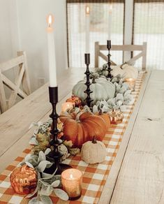 The Best French Farmhouse Fall Decor Ideas - thanksgiving decorations diy Diy Thanksgiving, Thanksgiving Decorations, Seasonal Decor, Thanksgiving Table Settings, Fall Table Settings, Thanksgiving Tablescapes, Indoor Fall Decorations, Decorating For Thanksgiving, Halloween Table Settings