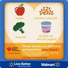 Snacks that are heart healthy