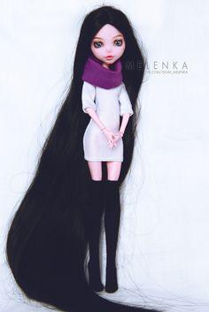#Melenka #repaint #laura #drakulaura #monster #High #elf #custom #doll #ooak #monsterhigh
